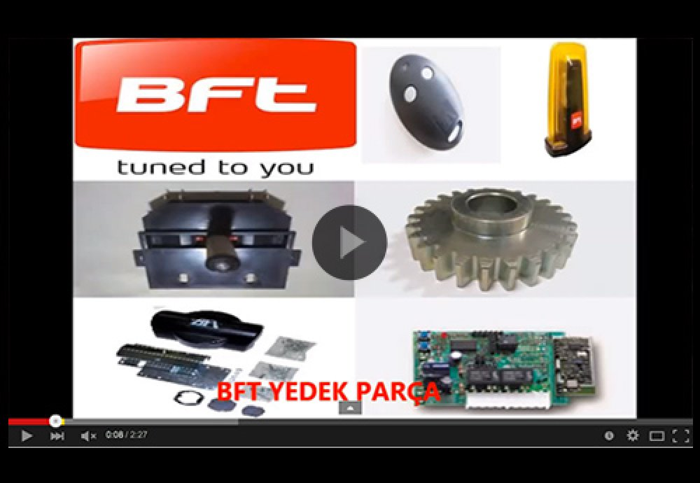 BFT Yedek Parça