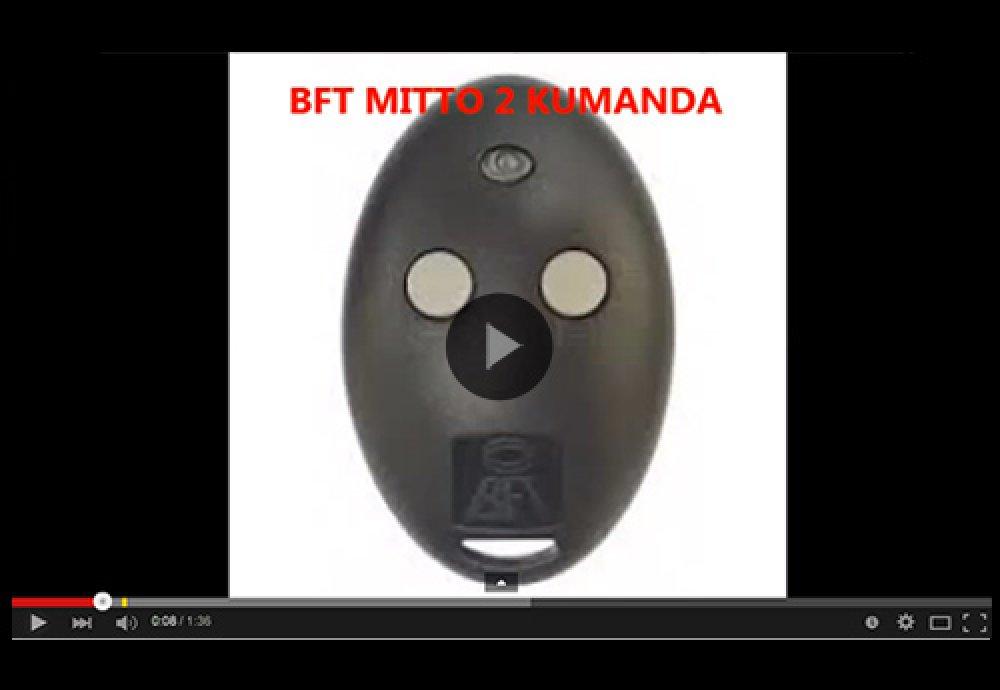 BFT Mitto Uzaktan Kumanda